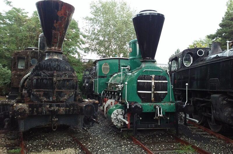 Dampfloks aus alten Zeiten