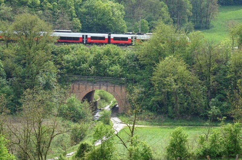 Bahnunterführung bei Niederkreuzstetten