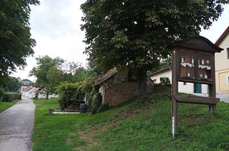 Kellergasse in Stillfried