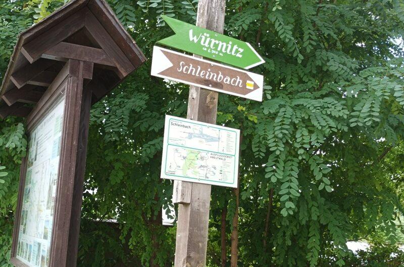 Wegweiser nach Würnitz