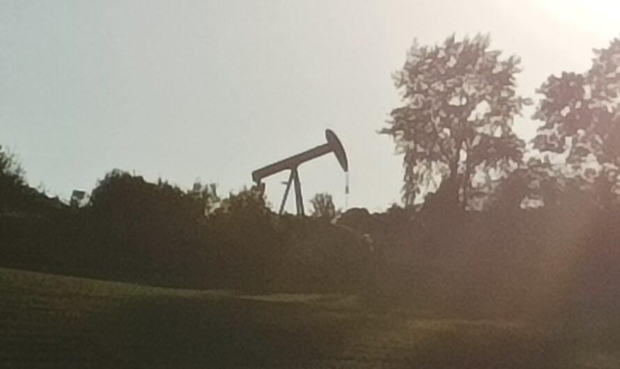 Ölpumpe bei Prottes