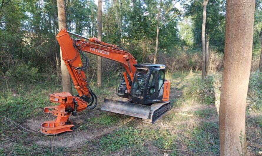 Waldarbeitsmaschine